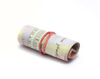Twisted bundle Ukrainian hryvnia Royalty Free Stock Photography