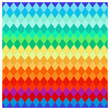 Twisted colored stripes Royalty Free Stock Photography
