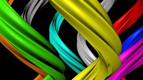 Twisted colors Royalty Free Stock Photos