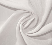 Twisted dull white fabric Stock Photos