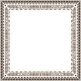 Twisted Frame brown Royalty Free Stock Images