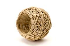 Twisted hemp cord reel Stock Photos