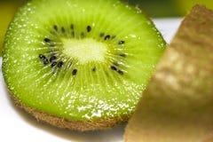 Twisted kiwi fruit close up Royalty Free Stock Photo