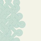 Twisted lines vector illustration