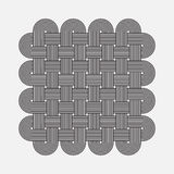 Twisted lines, vector element Stock Photo
