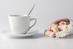 Twisted marshmallow Royalty Free Stock Image