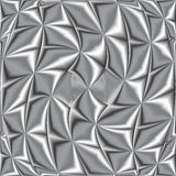Twisted metallic texture Royalty Free Stock Images