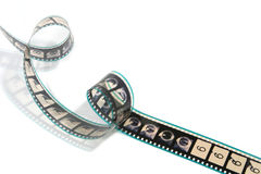 Twisted Movie Film Strip Royalty Free Stock Images