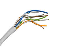 Twisted pair cable Stock Image