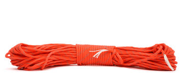 Twisted paracord Royalty Free Stock Photos