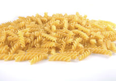 Twisted pasta Royalty Free Stock Image