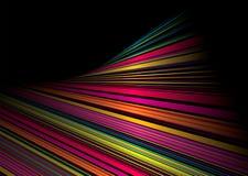 Twisted rainbow shine vector illustration