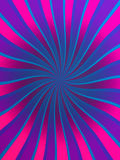 Twisted Rays Background. An abstract background of twisted pink and purple rays Stock Image