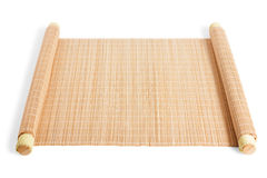 Twisted reed mat Stock Photos
