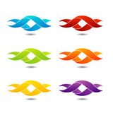 Twisted ribbon Royalty Free Stock Photo