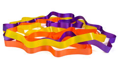 Twisted Ribbon Royalty Free Stock Images