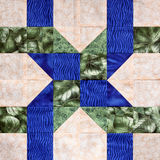 Twisted Ribbon Quilt Square Royalty Free Stock Photos
