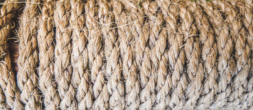 Twisted rope texture Royalty Free Stock Image