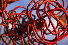 Twisted sculpture Stock Photos