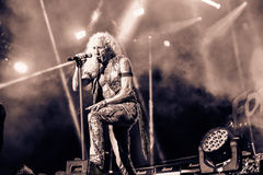 Twisted Sister Hellfest 2016 Royalty Free Stock Images