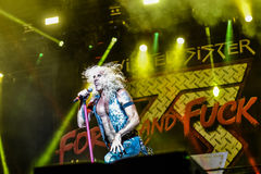 Twisted Sister Hellfest 2016 Stock Photography
