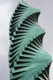 Twisted sky scraper in Panama City Stock Photos