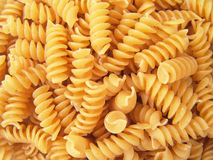 Twisted Spiral Noodle Pasta Rotini Royalty Free Stock Photography