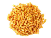 Twisted Spiral Noodle Pasta Rotini Stock Image