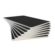 Twisted stack of pad tablet electronic devices Stock Photography