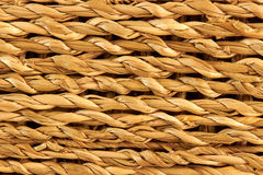 Twisted straw texture Stock Photo