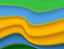 Twisted stripe pattern Stock Image