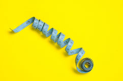 Twisted tape measure Royalty Free Stock Photography