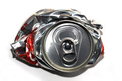 Twisted tin freeze Stock Image