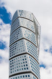 Twisted Torso. The highest skyscraper in Nordic countries is Twisted Torso in Malmo, Sweden. Art work designed by Gustavo Calatrava Royalty Free Stock Photography
