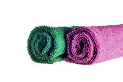 Twisted towel Royalty Free Stock Images