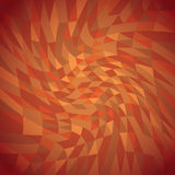 Twisted triangles background Royalty Free Stock Photo