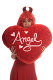 Twisted Valentine royalty free stock photography