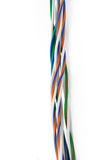Twisted wire Stock Image