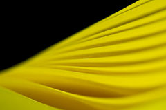 Twisted Yellow Paper Background IV Stock Image