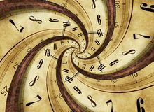 Twister времени бесплатная иллюстрация