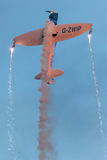 Twister Acrobatisch Team Vliegtuigen: 2 x Stilte Twister Royalty-vrije Stock Fotografie