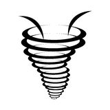 Twister effect icon Royalty Free Stock Photography