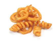 Twister fries Stock Photos