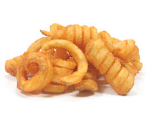 Twister fries Royalty Free Stock Photo