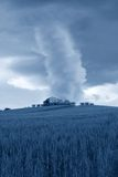 Twister on the hill Stock Photo