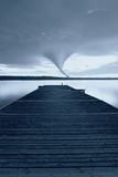 Twister at horizon Royalty Free Stock Photo