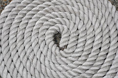 Twisting rope pattern Stock Photography