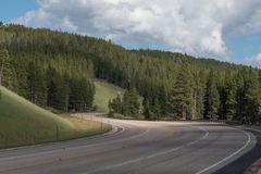 Twisty Mountain Road Royalty Free Stock Photography