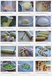 Twisty Sausage Bread. Photo of Twisty Sausage Bread recipe Royalty Free Stock Image