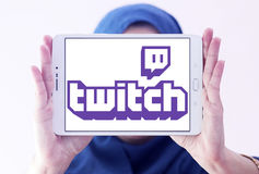 Twitch mobile logo Royalty Free Stock Photo